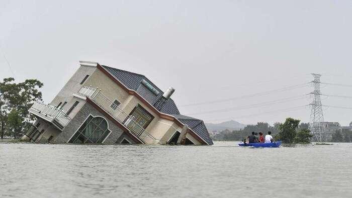 Inondations en Chine: le bilan s'alourdit et de nouvelles crues sont attendues