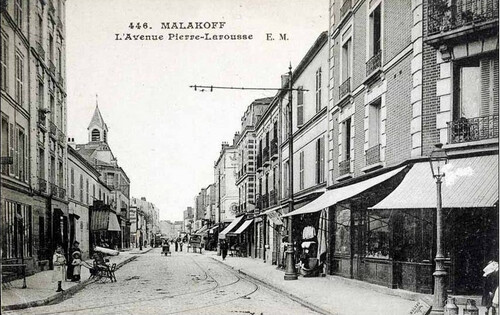 Quand le tramway traversait Malakoff.