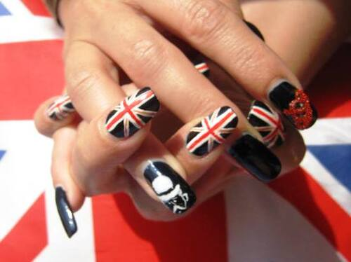 Nail art : So british