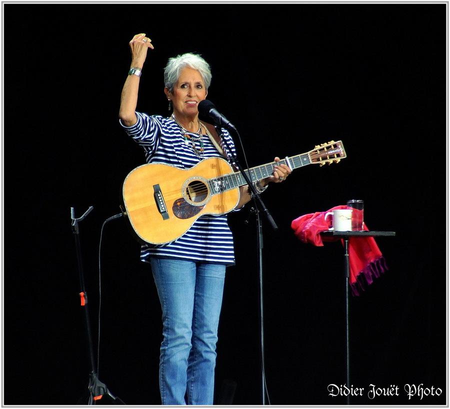 Joan Baez / Vieilles Charrues 2015