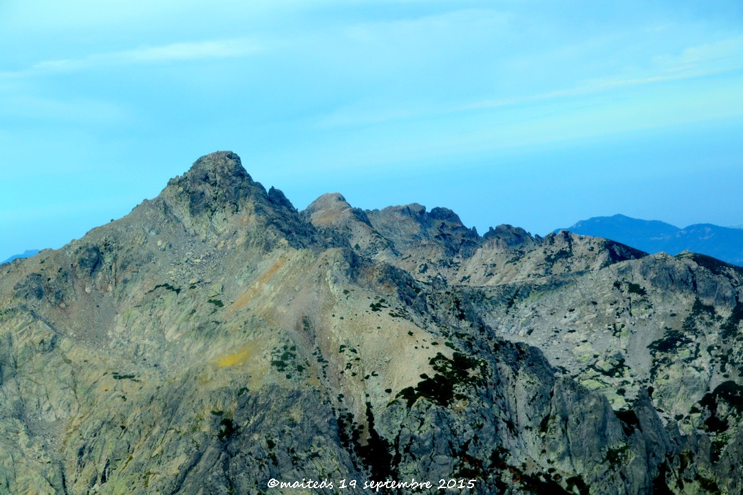 Mon survol de la Corse 2015  2) les montagnes