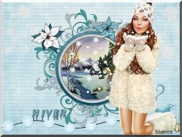 défi Nathie13or '' tombe la neige''