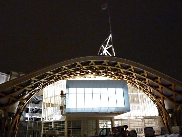 Centre Pompidou Metz neige nuit 11 20 12 09