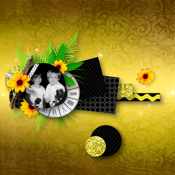 Black'n Yellow Touch by Didine Design
