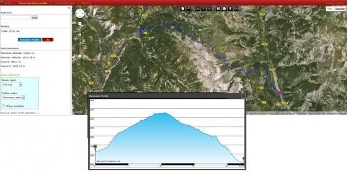 Draw profil elevation