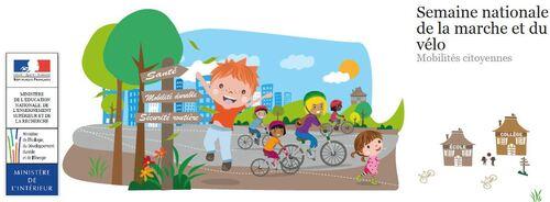 Semaine nationale de la marche et du vélo