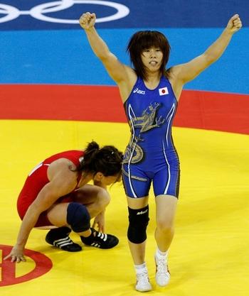 Saori Yoshida, lutteuse implaccable