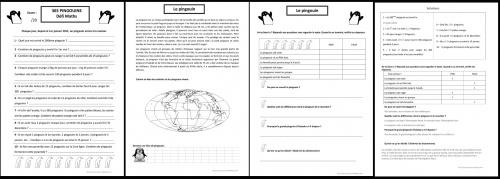 Littérature et Mathématiques : 365 pingouins