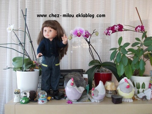 Un jean pour ma poupée Elara