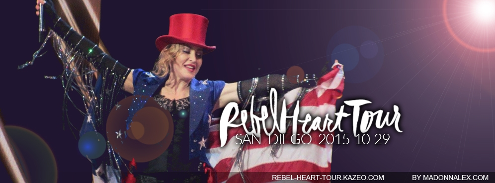 Madonna - The Rebel Heart Tour San Diego