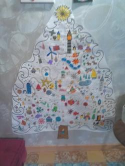 Nos premières décorations de Noël!