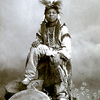 A Ute boy with drum. ca. 1900. Source - Utah State University..png