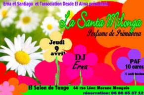 EL SALON DE TANGO - SAISON 2014/2015