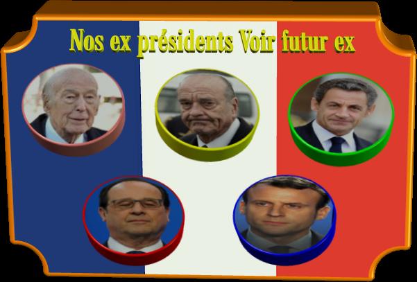 Un pognon de dingue nos ex présidents voir futur ex