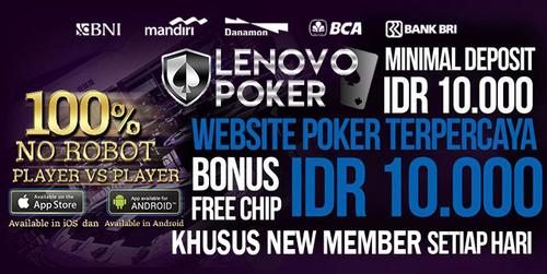 Lenovopoker Bandar Poker Online Terbaik Di Indonesia
