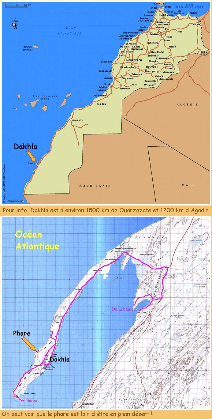 Le phare de Dakhla