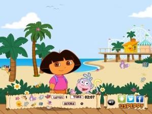 Walking Dora - Hidden objects
