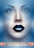 Femmes visages misted