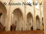 St Antonin-Noble-Val : L'eglise