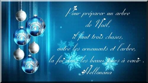 Citation avant Noël