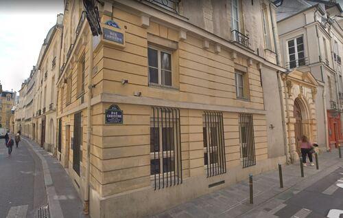 Salle de Lecture rue Christine/rue des Grands-Augustins (Paris)