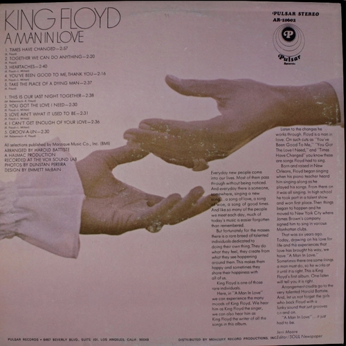 "King Floyd : Album "" Heart Of The Matter "" V.I.P. Records VS-407 [ US ]"
