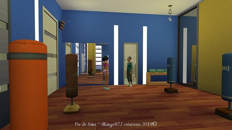 Sims 4 : La salle de sport