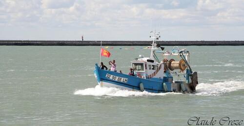 Abeille liberté et les sauveteurs en mer
