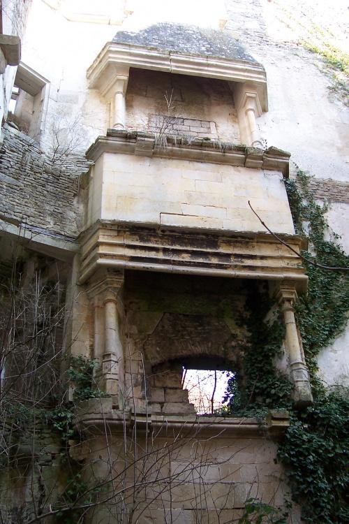 Le château de Rochefort, à Asnières en Montagne..