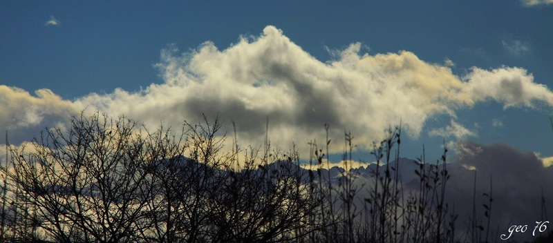 Montagne de nuages...!!