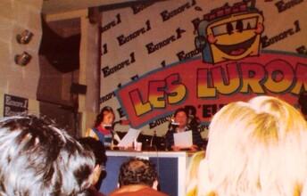 08 octobre 1982 : Sheila et Thierry Le Luron