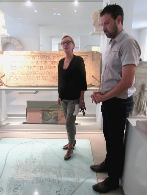A l'occasion des Journées du patrimoine 2018, le Musée du Pays Châtillonnais Trésor de Vix a présenté une sculpture récemment acquise et la restauration d'une peinture gallo-romaine