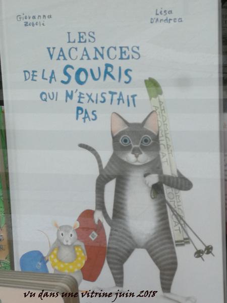 livre éles vacances de la souris qui n'existait pas