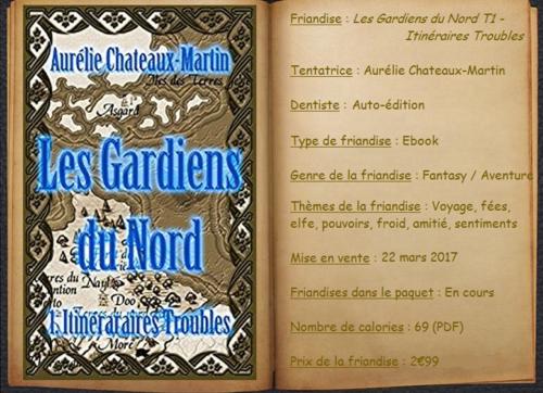 Les Gardiens du Nord T1 - Itinéraires Troubles - Aurélie Chateaux-Martin