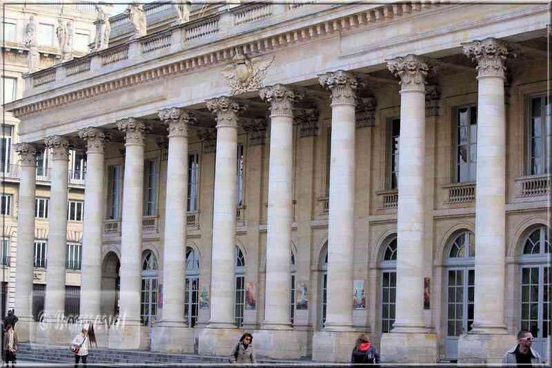 Bordeaux le Grand Théâtre