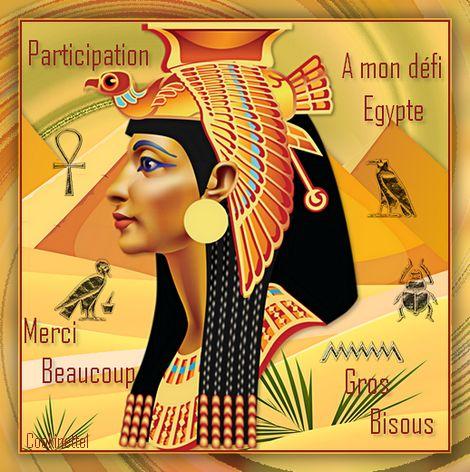 Récapitulatif 1 de vos belles créations défi Egypte
