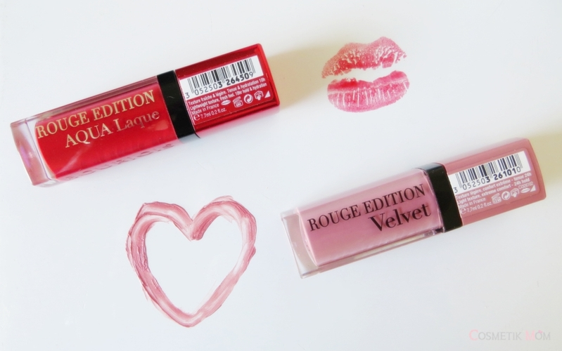 Rouge Edition Aqua Laque & Velvet de Bourjois, Mes Tests