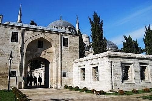 Suleymaniye Camii - Les extérieurs