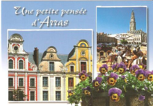 Postkarten auf Deutsch und Englisch