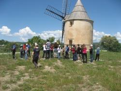 Le voyage scolaire des CM à Saint Michel l'Observatoire.