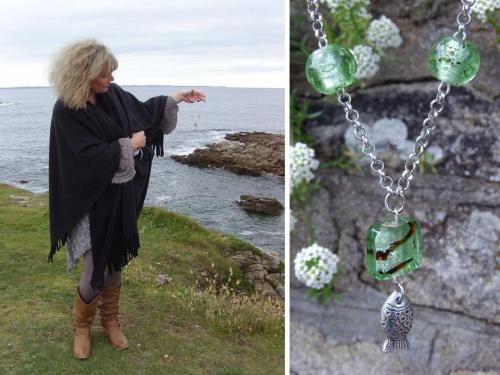 Les Bijoux de Sylvie LE BRIGANT inspirés par le Golfe du Morbihan