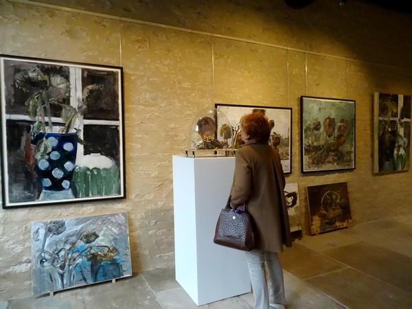 D'autres toiles et installations chez Karin Neumann, en 2017, à Nesle