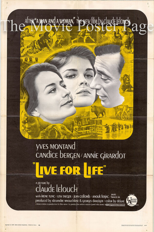 LIVE FOR LIFE BOX OFFICE USA 1967