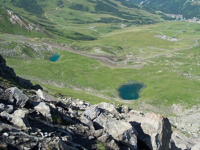 Lac Bleu et Lac Blanc