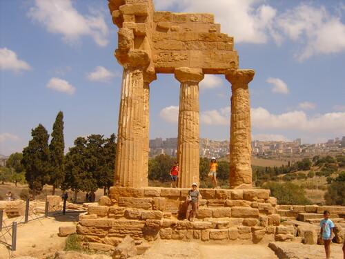 Italie - Sicile - Agrigente - La vallée des Temples