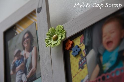 Mylène : Home Déco - Cadre baptême