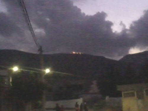 Incendie au niveau du Djebel Boukornine