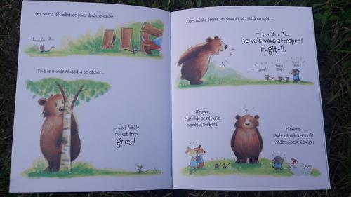 parcours lecture CP: l'ours à l'école
