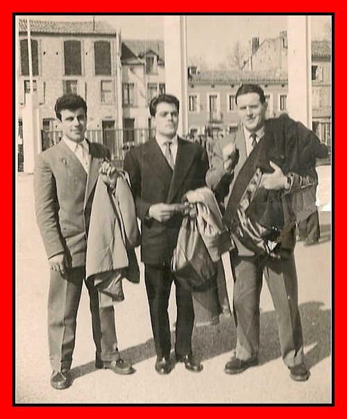 - La 1/2 finale rugby 1957