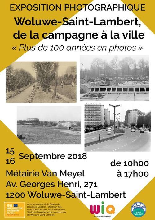 Exposition : Woluwe-Saint-Lambert, de la campagne à la ville